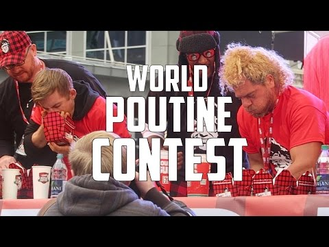 2016 WORLD POUTINE EATING CONTEST