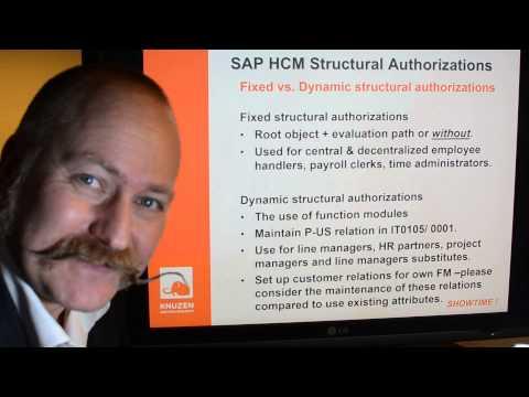 SAP HCM STRUCTURAL AUTHORIZATIONS