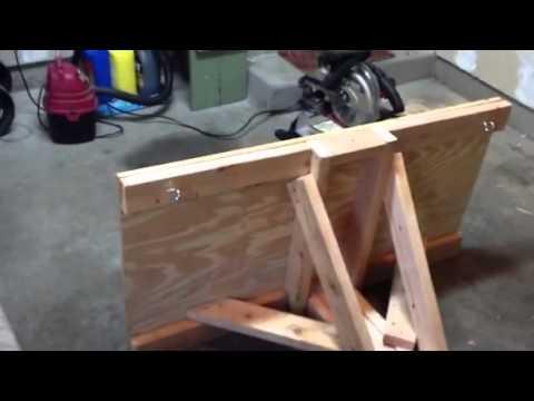 Homemade Snow Plow For ATV