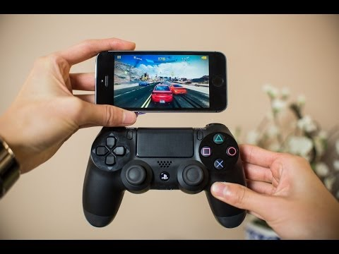 How to play iOS Games with PlayStation DualShock 4 (or 3) controllers! (iPhone, iPad)