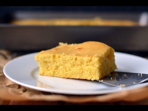 Mantecada Recipe - How To Make Colombian Corn Cake - SyS