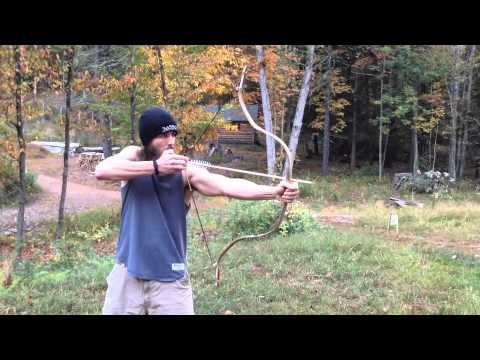 Training Turkish-style Composite Horn Bow to Draw