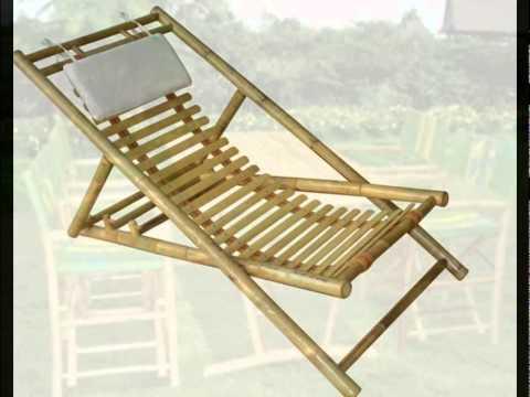 bamboo beach folding chair