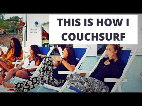This is how I Couchsurf? ✈️🌎 Video Contest