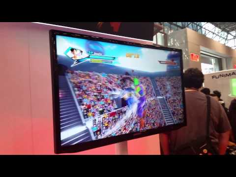dragon ball z xenoverse demo at nyc comic con 2014