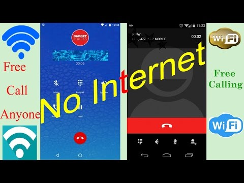 Free Call Via Wifi || No Internet || Easy Way