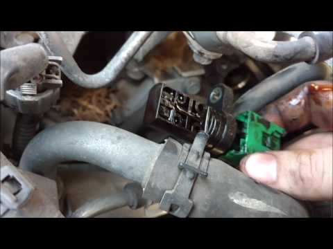 HOW TO replace CAM Position Sensors on a 3.5L Nissan