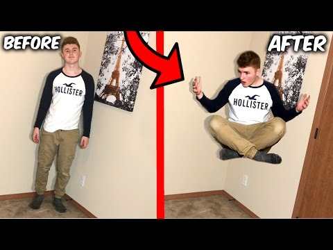 FLY IN REAL LIFE TRICK! (Life Hacks)