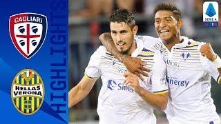 Cagliari 1-1 Verona | Faraoni Scores A Second Half Equaliser In Tight Contest | Serie A