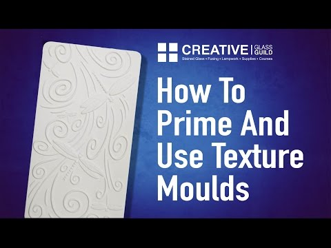How To Prime And Use Texture Moulds