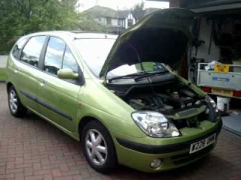 Renault 16v engine coil replacement.