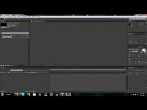Import, Split, Remove Clips in Adobe After Effects CS6