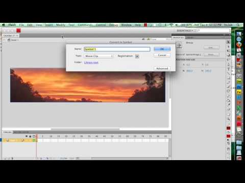 Create a basic Web Site Banner in Flash - part 1