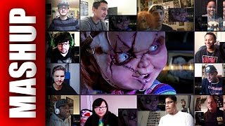 CULT OF CHUCKY Teaser Trailer Reactions Mashup