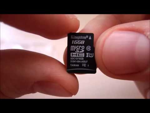 Kingston 16GB Class 10 Micro SD/SDHC Memory Card with SD Adapter from Gearbest