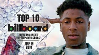 Top 10 • US Bubbling Under Hip-Hop/R&B Songs • June 16, 2018 | Billboard-Charts