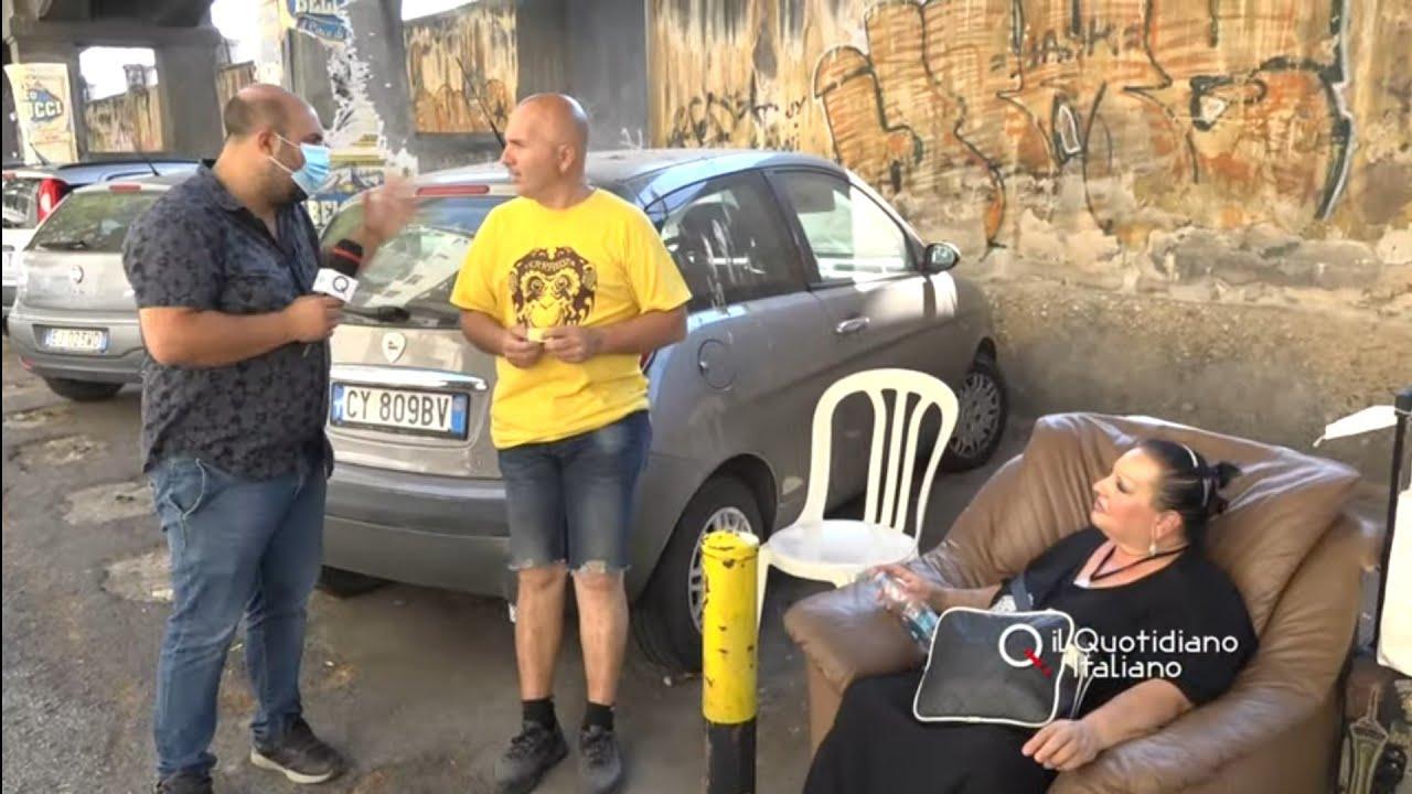 Bari, il reddito di cittadinanza non basta: Tonia e Giuseppe nell'inferno di corso Italia