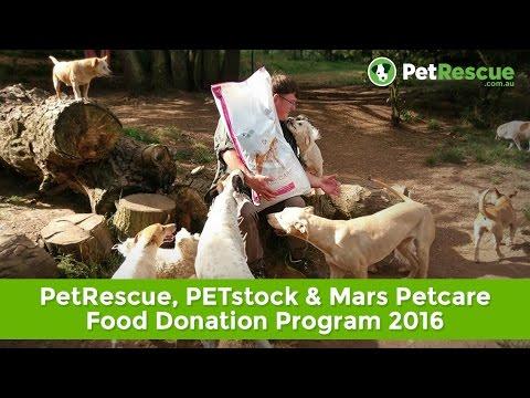 PetRescue, PETstock & Mars Petcare Food Donation Program 2016