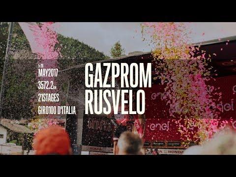 Gazprom — RusVelo: GIRO100