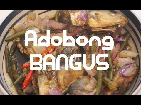 Paano magluto Adobong Bangus Recipe - Milk Fish Pinoy Tagalog Filipino cooking