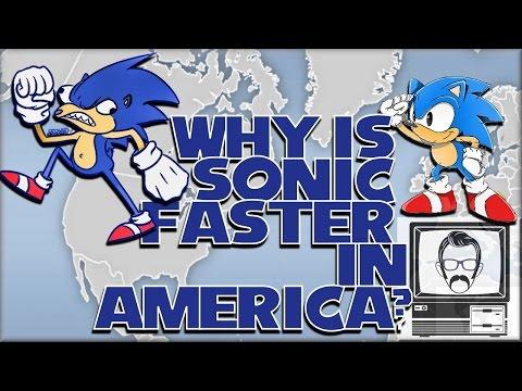 Why is Sonic Faster in America? NTSC vs PAL/60Hz vs 50Hz | Nostalgia Nerd