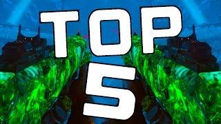 Top 5 Best Guns In Der Eisendrache Top 5 Wall Box Guns In Der