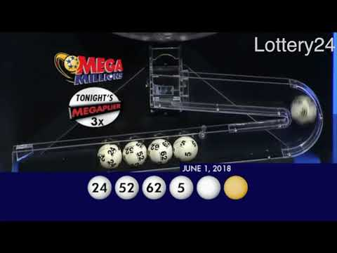 2018 06 01 Mega Millions Numbers and draw results