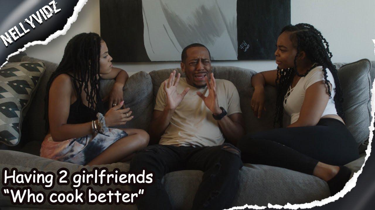 "Having 2 girlfriends ""Who cook better"" | Comedy skit"