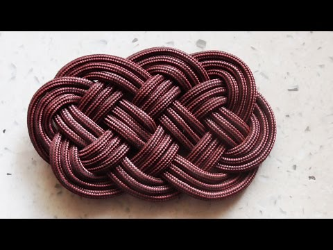 How To Tie An Ocean Plait Mat Knot