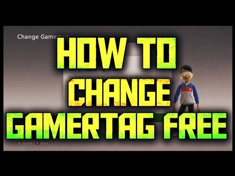 How to Change Gamertag for FREE - Xbox Live (TUTORIAL) (2016)::