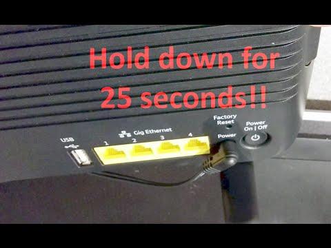 How to factory reset a BT Smart Hub (BT Home Hub 6) router