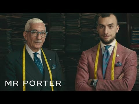 The Secrets Of A Well-Fitting Italian Suit | MR PORTER