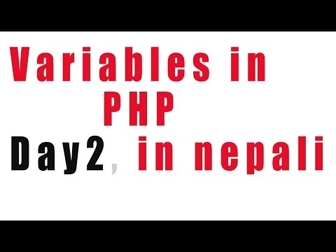 variables in PHP day 2