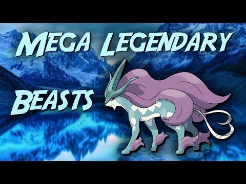 Mega Legendary Beasts - Suicune Raikou Entei