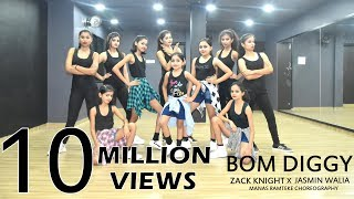 Download Bom Diggy | Zack Knight | Jasmin Walia | Manas Ramteke Choreography | SPARTANZzz Dance Academy
