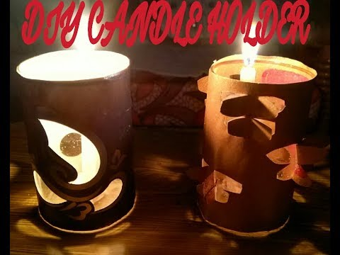 DIY Candle Holder | Quick Decoration Ideas | Diwali | Christmas | By organizeandlivewithme
