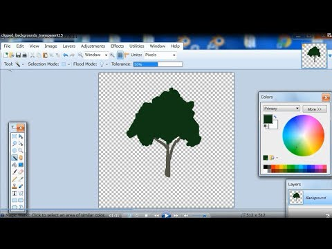 How to Get 2D Images with their Transparent Backgrounds for Java 3D (Clipped Version)/画像の背景を透明に
