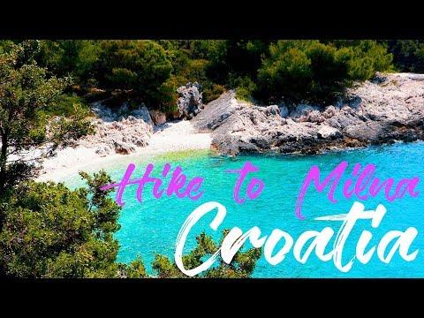 WHAT TO DO IN HVAR || TRAVEL CROATIA || WALK TO MILNA || CROATIA VLOG #20