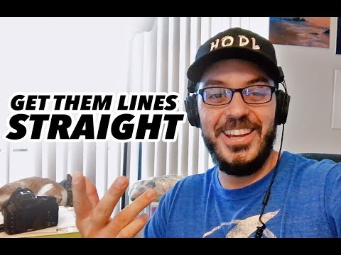 Straighten up your drawing lines! HERE'S HOW