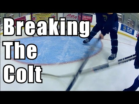Breaking the Unbreakable Stick - Colt Hockey Stick review Update