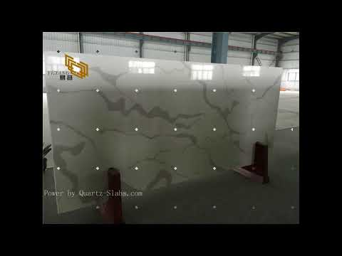 Best White Quartz Slab for Kitchen Countertops with Cheap Prices from China Suppliers