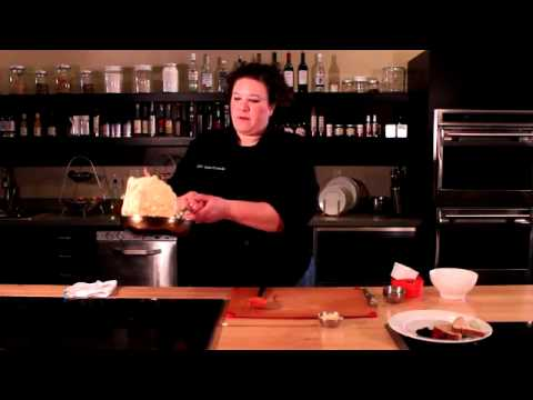 How to Make a Denver Omelette with Chef Jaime Carmody cooking at The Learning Kitchen