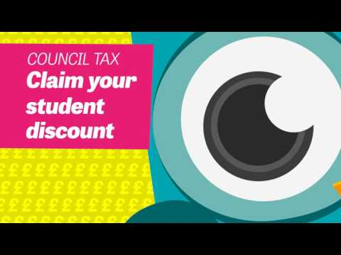 Council Tax Student Discount - it's up to you to apply!