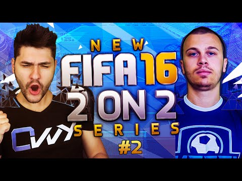 AMAZING BICYCLE KICK GOAL + PERFECT POSSESSION BUILD UP PLAY / FIFA 16 2on2 SERIES