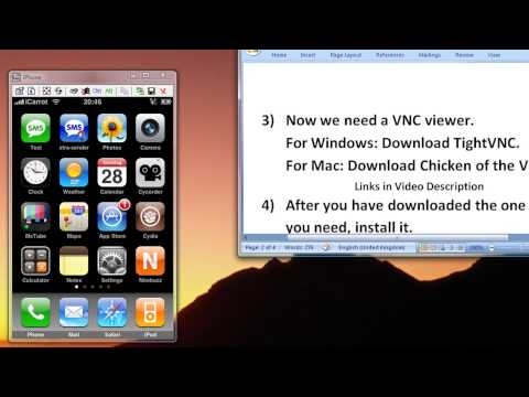 How To Control Your iPhone/iTouch Over Your Wireless on PC or Mac [HD 720p]