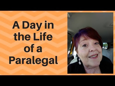 A Day in the Life of a Paralegal
