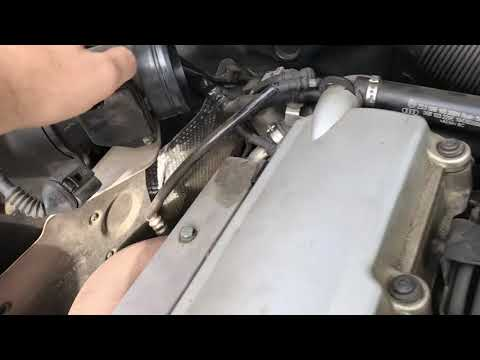 Curatare debimetru Audi A4 partea 1