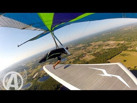 Adventures With Aviator : EPIC Hang Gliding at 130KPH