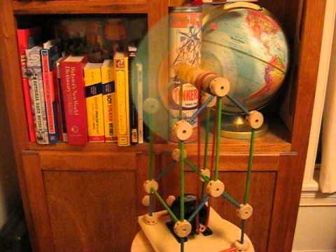 Tinker Toy Electric Fan
