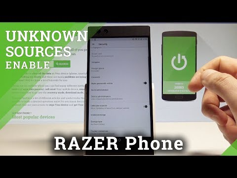 How to Enable Unknown Sources in RAZER Phone - Enable App Installation |HardReset.Info